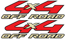 2008-2010 Vinylmark 4x4 Off Road Decals for Ford RANGER Super Duty GOLD