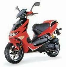 APRILIA TOUCH UP PAINT 02-03 SR50 DITECH ETC HOT RED