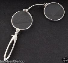 Antichi aiuto per la vista Occhiali Argento LORGNON punziert 835 del 1900