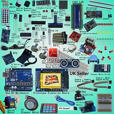 Professional UNO R3 Starter Kit for Arduino Servo LCD Compass Gyro UK Shipping