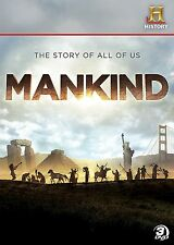 Mankind: The Story of All of Us (DVD) NEW, SEALED, FREE SHIPPING!!!!!