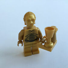 Lego Star Wars Figur C-3PO peal gold - Set 8092 / 10188 + gold Custom Equipment