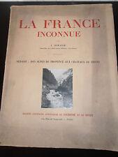 Dorange La France inconnue Sud-Est Des Alpes de Provence aux Château ( ref 23 )