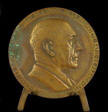 Medaille CHARLES RAMARONY sc R Cochet 68 mm la propriété batie 140 g medal