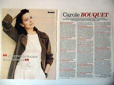 COUPURE DE PRESSE-CLIPPING : Carole BOUQUET  [2pages] 08/2014
