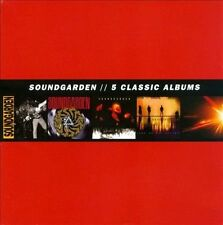 5 Classic Albums by Soundgarden 5CD Box Set