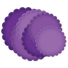 Spellbinders GRAND CALIBUR Scalloped Circles 6 Die Cut LF-124 CUT EMBOSS STENCIL
