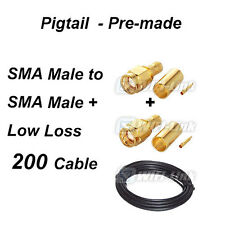 7M Antenna SMA type Extension Cable Assy. 200 WiFi Rouer SMA Male to SMA Male
