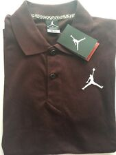 RET$50 NWT Nike Air Jordan Jumpman Polo Shirt Dri Fit SZ XL Maroon 688580 Men's