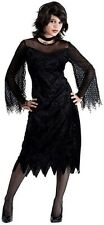 Sexy Gothic Maiden of Darkness Vampire Witch Teen Vamp Costume Teen Small 4/6