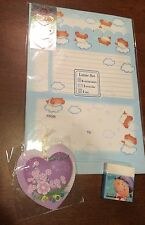 SANRIO HELLO KITTY RELATED - HUGE LOT STATIONERY, ERASER, ETC - New