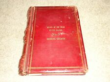 GREENE COUNTY SPRINGFIELD, MO.COURT HOUSE CIVAL CASES FEE BILLS RECORD BOOK 1922