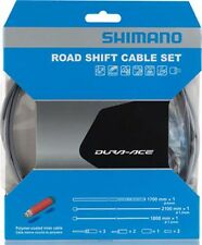 NEW Shimano Dura-Ace SP41 Polymer-Coated Derailleur Cable Set High-Tech Gray