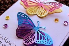 Impression Obsession FANCY BUTTERFLY set of 2, metal dies
