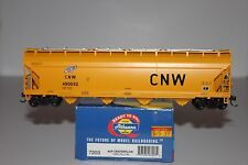 HO Scale Athearn 7203 Chicago & Northwestern 4-Bay Covered Hopper #490032
