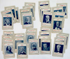 Vintage FAMOUS AUTHORS Playing Card Game / EMERSON SHAKESPEARE LONGFELLOW HUGO