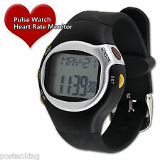 Fitness Pulse Heart Rate Monitor Sports Watch Running Exercise Calorie Counter
