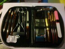 Manikürset + Make-up Set mit Nagelhautschere Nagelknipser Nagelfeile
