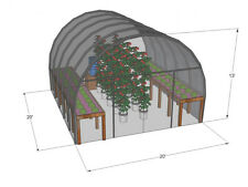 Plans, design, build Your Own HoopHouse, Aquaponics, greenhouse, ebook-CD