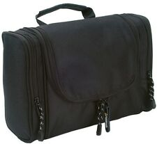 Grizzly- Black Line Toilet Case. Large semi-rigid body toiletry bag.