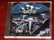 Ancient: The Cainian Chronicle CD 1996 Metal Blade Records 3984-14110-2 Original