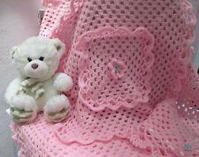 Copertina neonata uncinetto Coperta culla carrozzina in lana