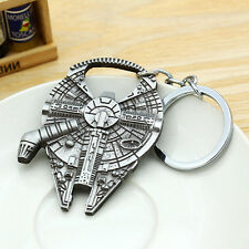 Novelty Star Wars Millennium Falcon Metal Bottle Opener & Key Chain Unique Gifts