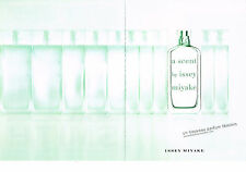 PUBLICITE ADVERTISING   2009   ISSEY MIYAKE  ( 2 pages) boutique parfum