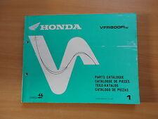 catalogo ricambi Honda VFR 800 FI w Modello 1998 de piezas