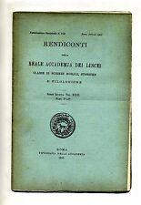 RENDICONTI DELLA REALE ACCADEMIA DEI LINCEI#Tip.Accademia 1915 Vol. XXIII N.7-10