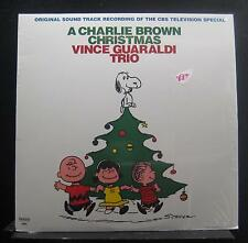 Vince Guaraldi Trio-  A Charlie Brown Christmas LP New Limited Red Color Vinyl