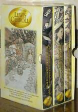 COMPLETE LEWIS CARROLL ~ 3 VOL SET ~ ALICE Looking Glass SNARK + MORE ~ TENNIEL