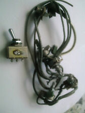 Rare old Vintage COMMODORE SEMI-ACOUSTIC GUITAR PARTS ( WIRING HARNESS & SWITCH)