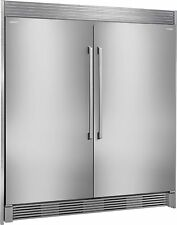 Electrolux Stainless Steel Built in All Refrigerator & All Freezer With Trim Kit