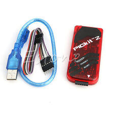 PIC Kit 2 Simulator Programmer Emluator Red Color USB Cable Dupond Wire PICKIT2