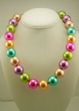 Joan Rivers Stain Finish Faux Pearl Necklace