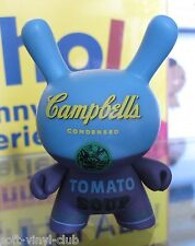 Kidrobot andy warhol Dunny series Campbell 's Blue-Open blindbox