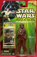 Star Wars Power Of The Jedi Chewbacca Collection 1 Jedi Force File Hasbro 2000