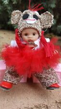 """OOAK polymer clay baby girl adorable doll artdoll 5"""" by Grace-babies!"""