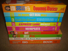 Rachael Ray COOKBOOK LOT Cooking Book Weight Loss Diet Food Network 30 Meals 365