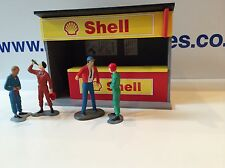 1:32 Scale Shell Pit Building Ninco Scalextric Carrera SCX building