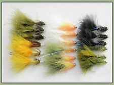 18 Damsel Trout Fishing Flies, Lures,  Mixed Selection Size 10 Hook