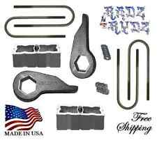 "1998-2014 Ford Ranger Mazda B 4WD 3""-2"" Suspension Torsion Keys Blocks Lift Kit"