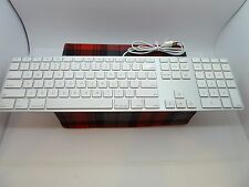 APPLE USB KEYBOARD MODEL A1243 Wired Keyboard Numeric Keyboard FREE USA SHIPPING