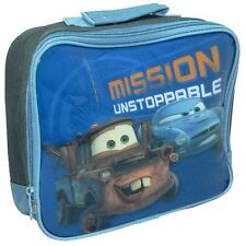 Disney Cars 2 Mission Unstoppable Insulated Lunch Bag - Free 1st Class Delivery