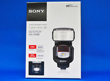 Sony HVL-F43M External Flash For Alpha DSLR Camera Japan Domestic Version New