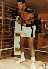 MUHAMMAD ALI Signed Photograph - World Heavyweight BOXING Champion - preprint