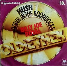 "7""60s VG++ BILLY JOE ROYAL Hush + Down In The Boondocks"