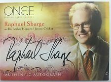 ONCE UPON A TIME SEASON 1 Cryptozoic : Raphael Sbarge ARCHIE HOOPER A4 Autograph