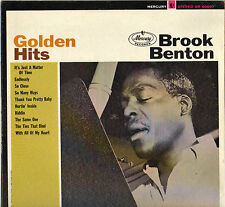 "BROOK BENTON ""GOLDEN HITS"" POP SOUL 60'S LP MERCURY 60607"